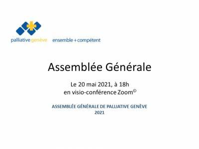 Assemblée Générale de palliative genève 2021